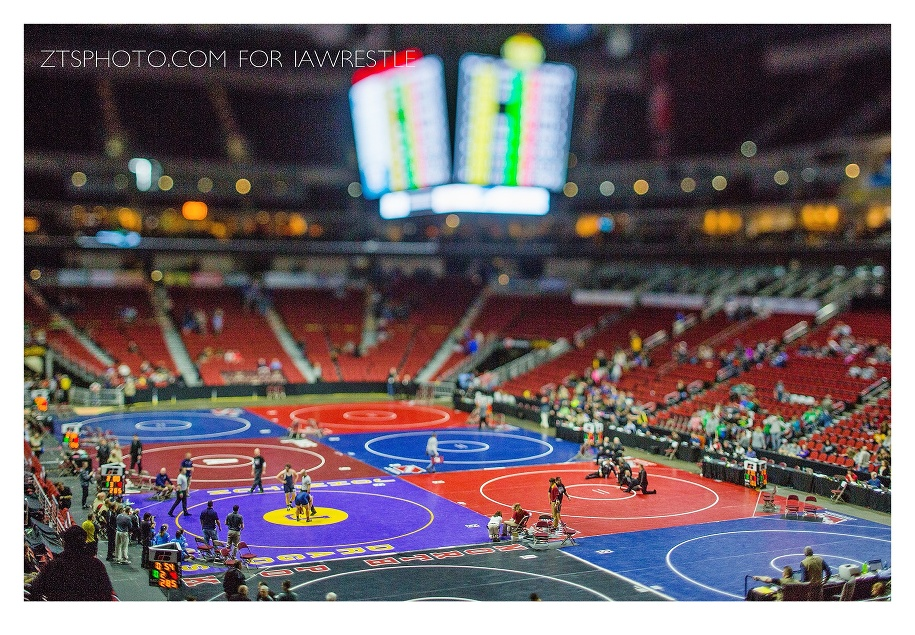 iowa high school state wrestling 2016