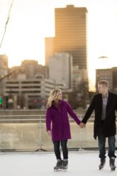 brenton skating plaza engagement photos and proposal