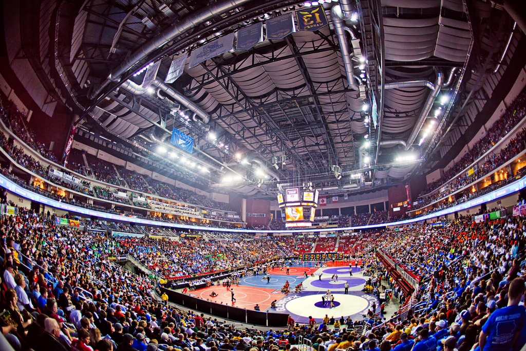 2011 Iowa High School State Wrestling Tournament Iowa