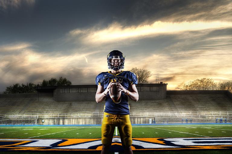 Buena Vista University Hdr Athlete Composites Bvu Sports Zts Photo