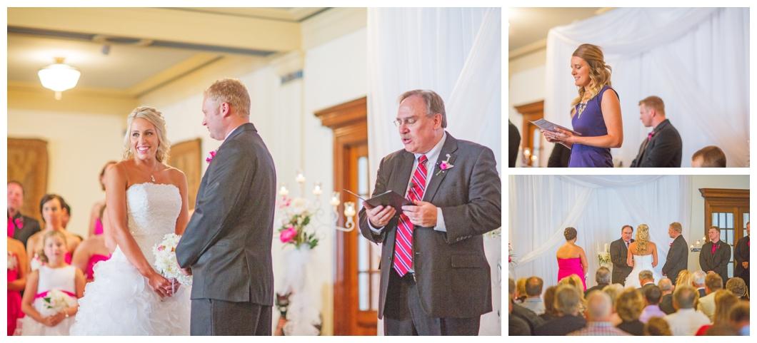 Hawley Wedding Scottish Rite Consistory Des Moines